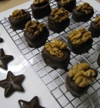 Naminiai marcipaniniai saldainiai