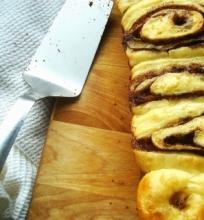 Norvegiškas cinamoninis pyragas