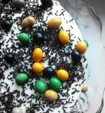 Paslaptingas (ne)spalvotasis tortas