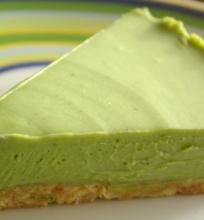 Žaliasis sūrio tortas