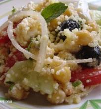 Kuskuso salotos su avinžirniais…