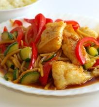 Traški žuvis kinietiškai