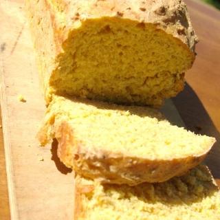 Moliūgų, česnakų ir čili duona