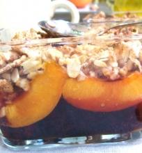 Apkepėlė su vaisiais