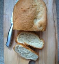 Prancūziška duona, kepta duonkepėje