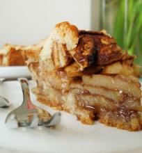 Tradicinis olandiškas obuolių pyragas