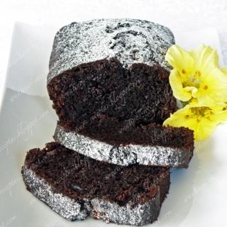 Šokoladinis cukinijų keksas