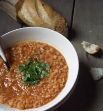 Graikiška lęšių sriuba