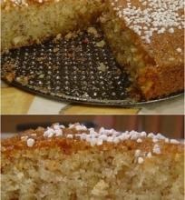 Citrininis manų pyragas