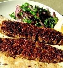 Jautienos Kibbe Kebabai
