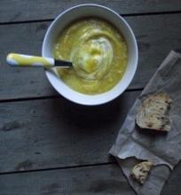 Rudeninių daržovių sriuba