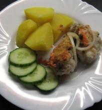 Žuvis saldžiarūgščiame marinate