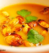 Moliūgo sriuba tailandietiškai