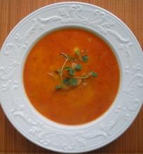 Morkų ir faršo sriuba