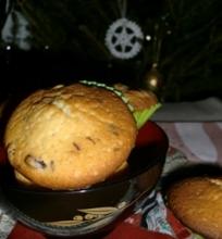 Keksiukai su šokolado gabaliukais ir džiovintais abrikosais