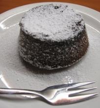 Šokoladinis lavos pyragėlis