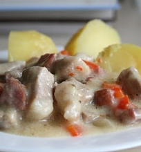 Baltarusiškas mėsos troškinys