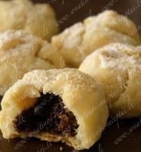 Sausainiai su aguonų įdaru