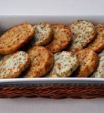 Parmezano sausainiai