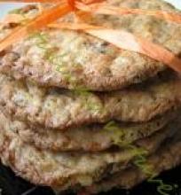 Avižiniai sausainiai su žemės riešutų sviestu ir šokoladu