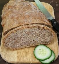 Duona su graikiniais riešutais