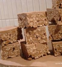 """""""Mars"""" šokoladukų kvadratėliai"""