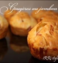 Gougères – sūrio pyragėliai