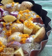Ispaniška vištiena su chorizo dešra ir bulvėmis