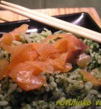 Ryžiai su špinatais