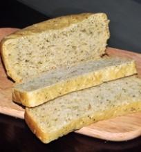 Duona su žolelėmis