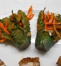 Agurkų kimči