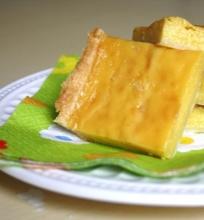 Kreminis moliūgų pyragas