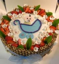 Viktorijos biskvitinis tortas