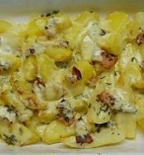 Bulvės užkeptos Raclette sūriu
