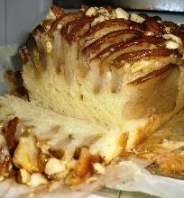 Varškės pyragas su kriaušėmis