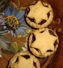 Angliški kalėdiniai trapios tešlos pyragaičiai