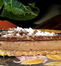 Šokoladinis mascarponės pyragas.
