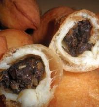 Pyragėliai su džiovintais grybais