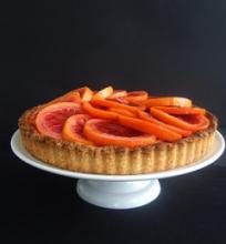 Raudonųjų apelsinų pyragas