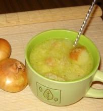 Trinta svogūnų sriuba