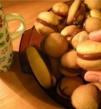 Sausainiai su karamele
