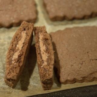 Šokoladiniai sausainiai…