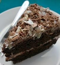 Tikrai velniškai skanus šokoladinis pyragas Devil's food cake