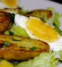 kiaušiniai ir bulvės