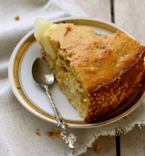 Paprastas kriaušių pyragas
