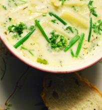 Kukurūzų sriuba su čiobreliais