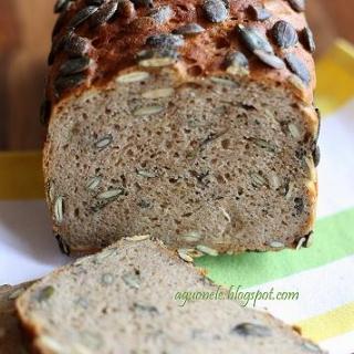 Duona su moliūgų sėklomis