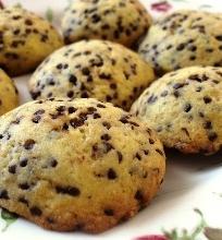 Labai skanūs sviestiniai sausainiai su šokolado gabaliukais