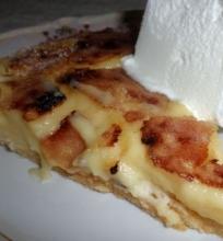 Citrininis crème brûlée tartas