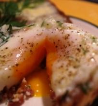 Kiaušinis romantiškiems pusryčiams